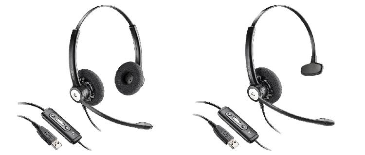 Auriculares para empresa Plantronics HW111N USB entera