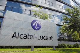 Vista exterior de las oficinas centrales de Alcatel-Lucent