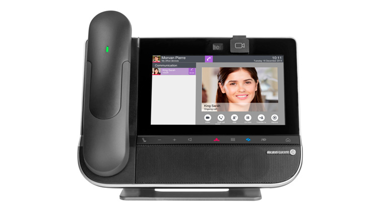 Teléfonos Smart Deskphone 8088 de Alcatel-Lucent