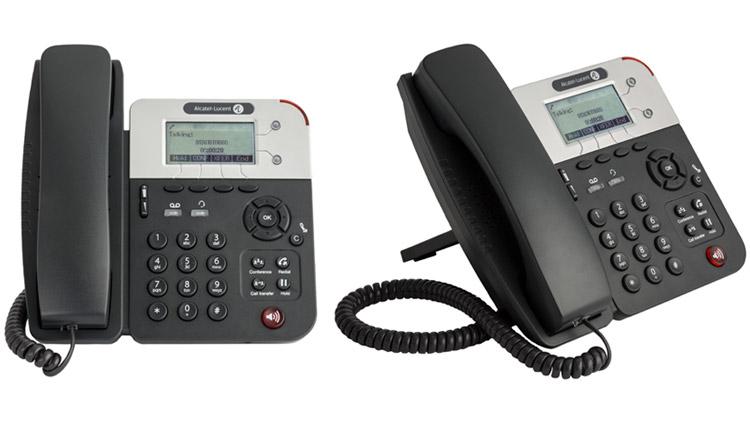 Teléfonos SIP de baja gama 8001 de Alcatel-Lucent