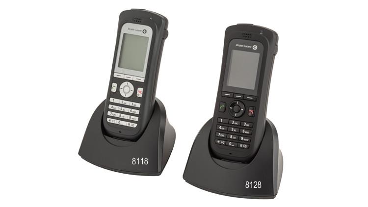Teléfonos inalámbricos WLAN 8118 y 8128 de Alcatel-Lucent