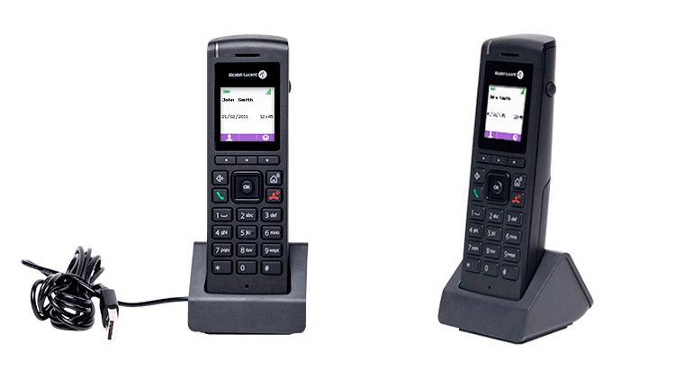 Teléfonos inalámbricos DECT 8212 de Alcatel-Lucent