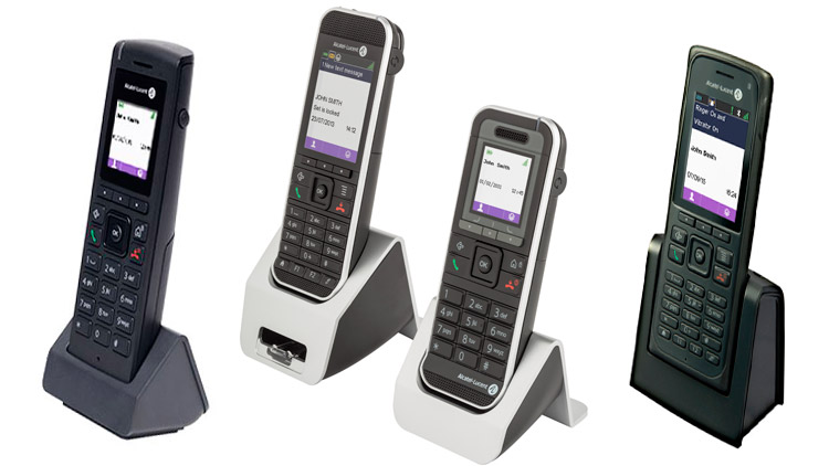 Teléfonos inalámbricos DECT de Alcatel-Lucent
